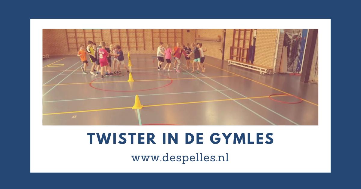 Twister in de gymles