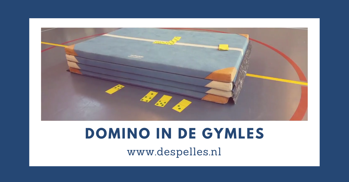 Domino in de gymles