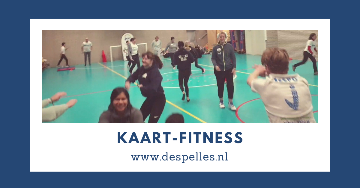 Kaart-Fitness in de gymles