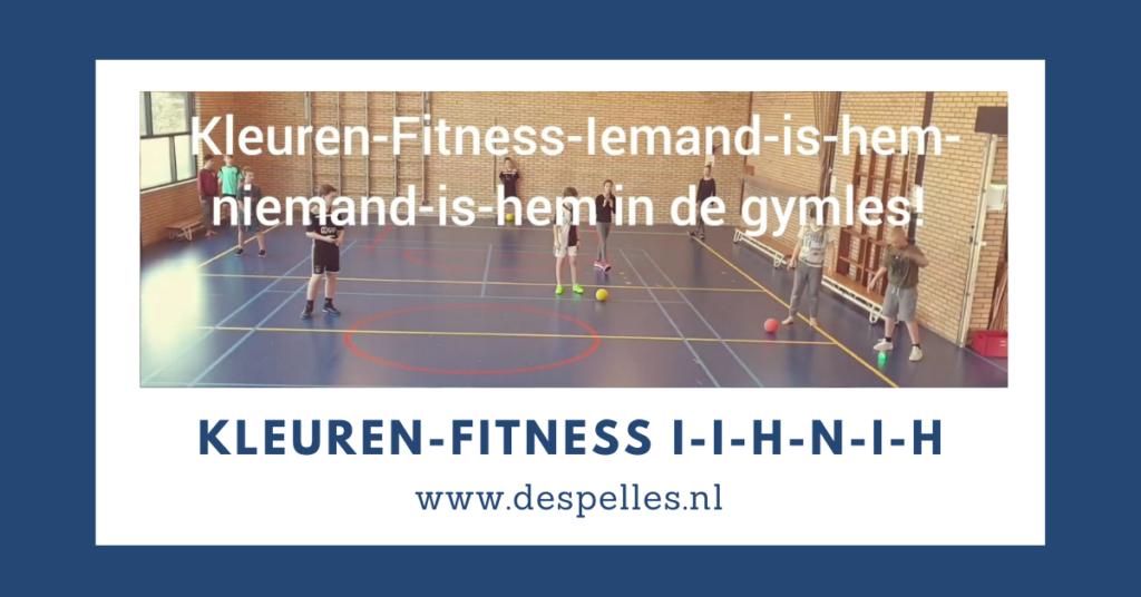 Kleuren Fitness IIHNIH in de gymles (website)