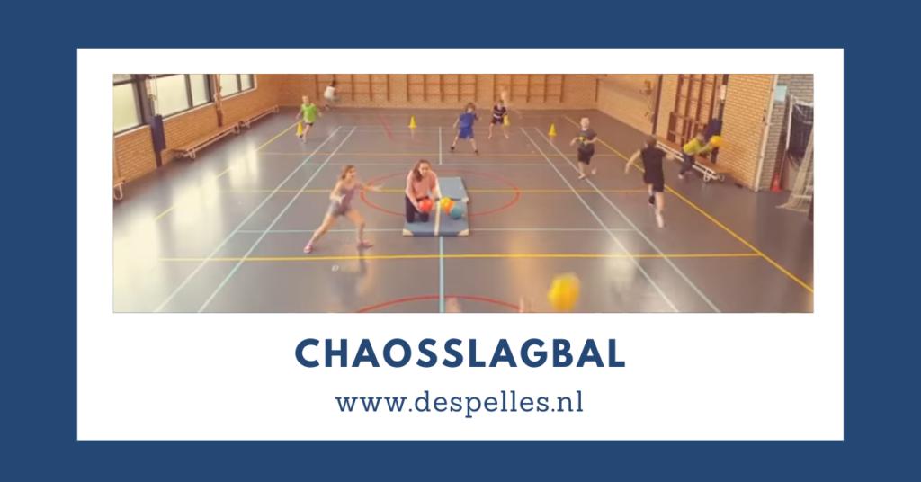 Chaosslagbal in de gymles