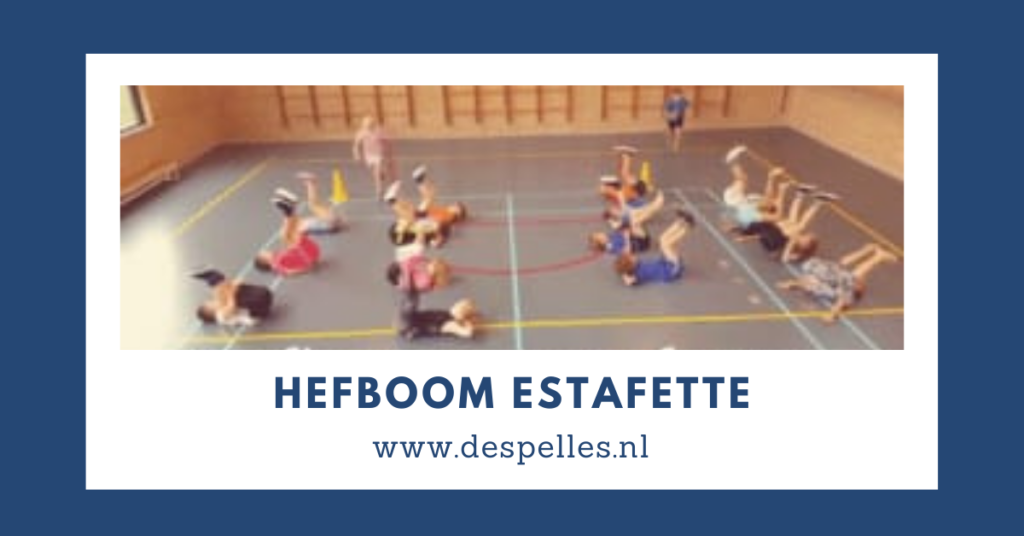 Hefboom-Estafette in de gymles