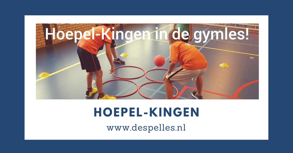 Hoepel-Kingen in de gymles
