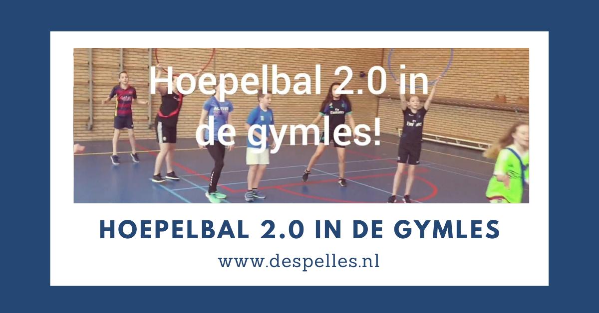 Hoepelbal 2.0 in de gymles (website)