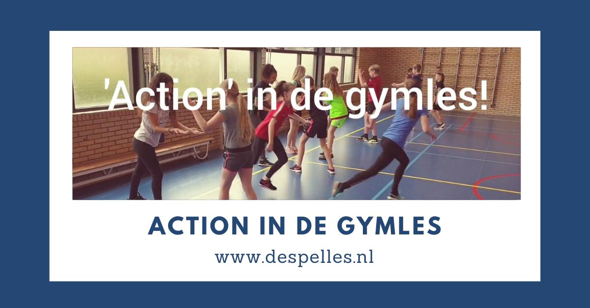 Action in de gymles