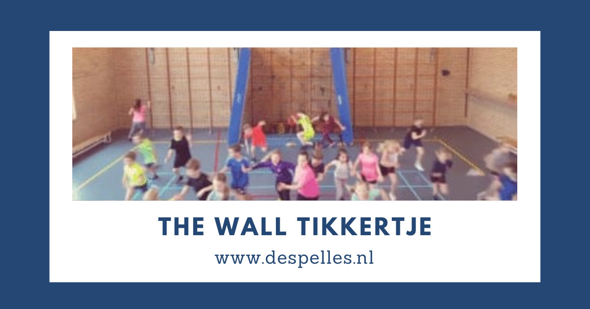 The Wall Tikkertje in de gymles