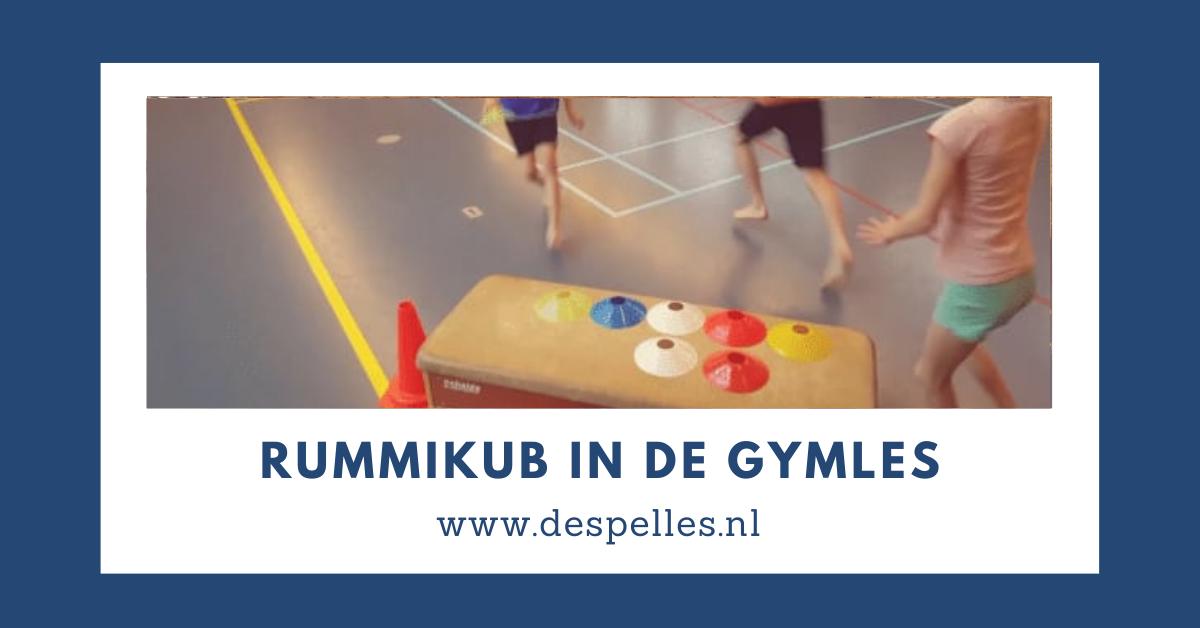 Rummikub in de gymles