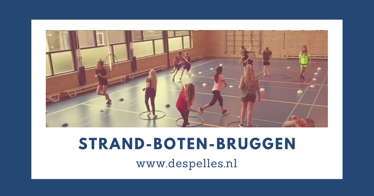 Strand-Boten-Bruggen in de gymles