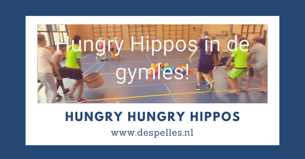 Hungry Hungry Hippos in de gymles