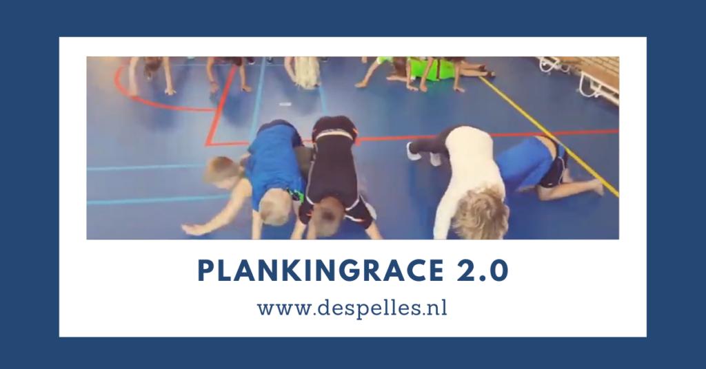 Plankingrace 2.0 in de gymles