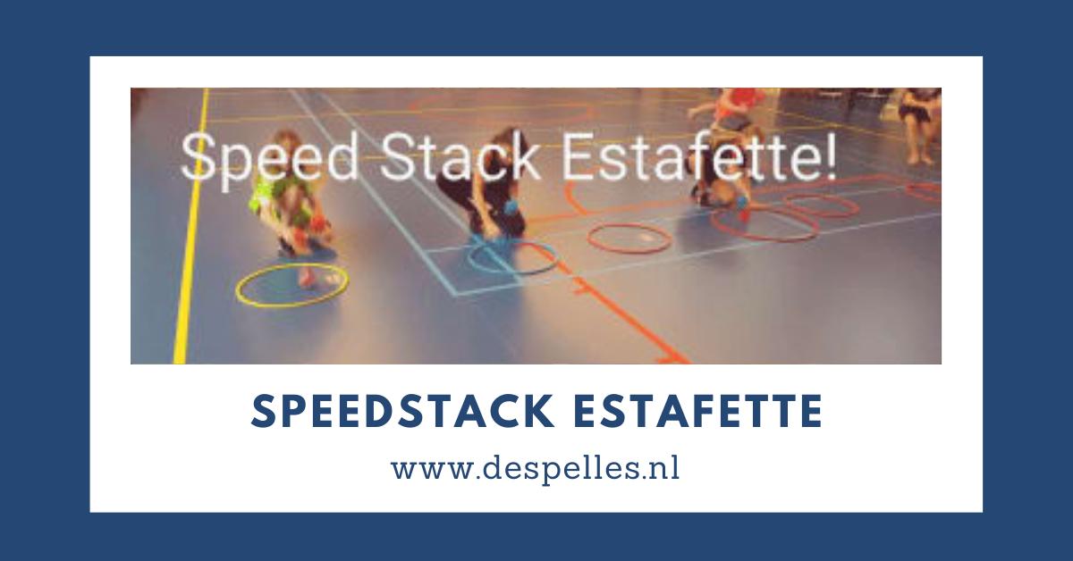 Speedstack Estafette in de gymles
