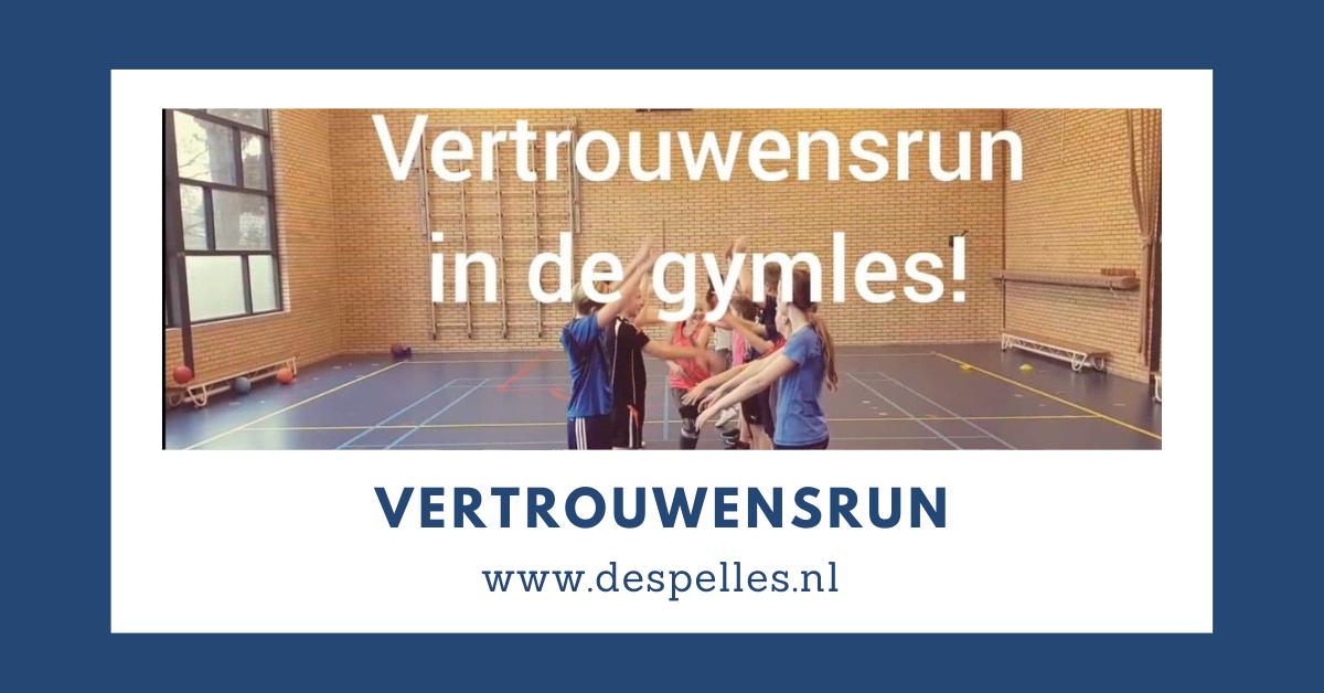 Vertrouwensrun in de gymles