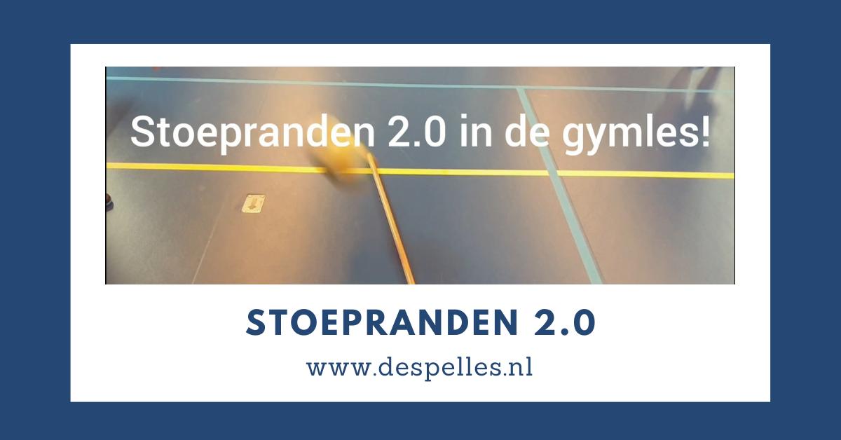 Stoepranden 2.0 in de gymles