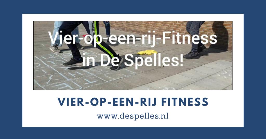 Vier op een rij Fitness in de gymles
