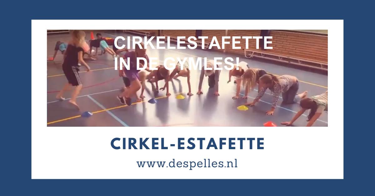 Cirkel Estafette in de gymles