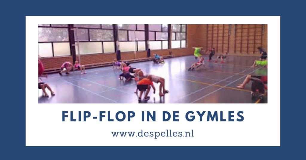 FLip-Flop in de gymles
