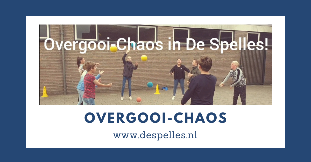 Overgooi-Chaos in de gymles