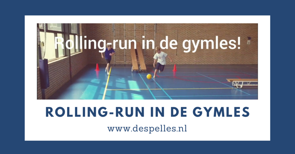Rolling-Run in de gymles