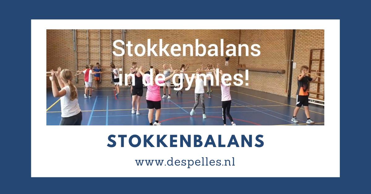 Stokkenbalans in de gymles