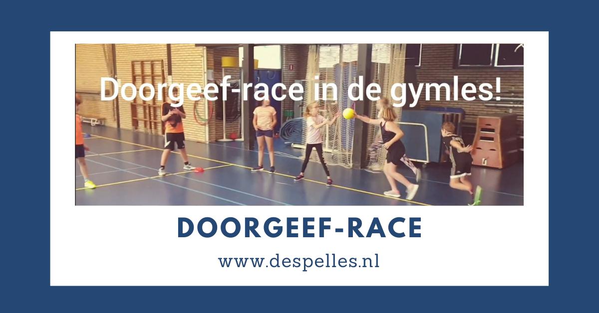 Doorgeef-race in de gymles