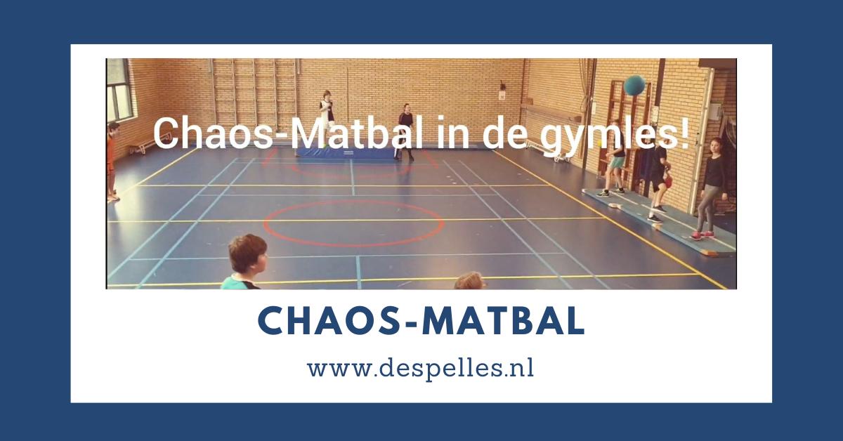 Chaos-Matbal in de gymles
