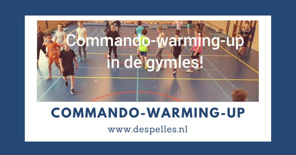 Commando-Warming-up in de gymles