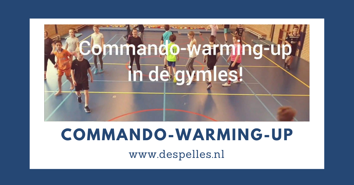Commando-Warming-up in de gymles