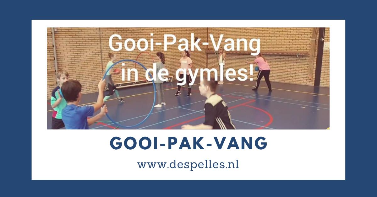 Gooi-Pak-Vang in de gymles
