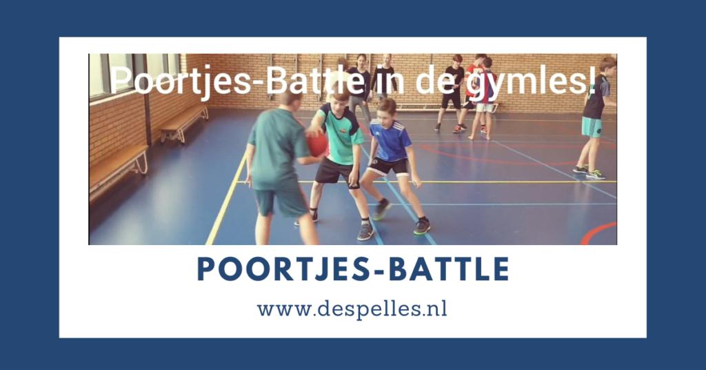 Poortjes-Battle in de gymles
