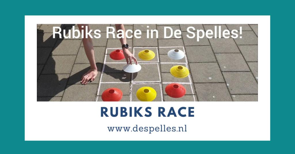 Rubiks Race in De Spelles