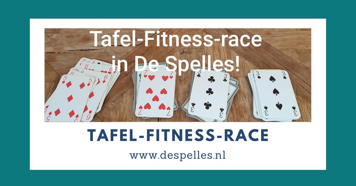 Tafel-Fitness-race in De Spelles