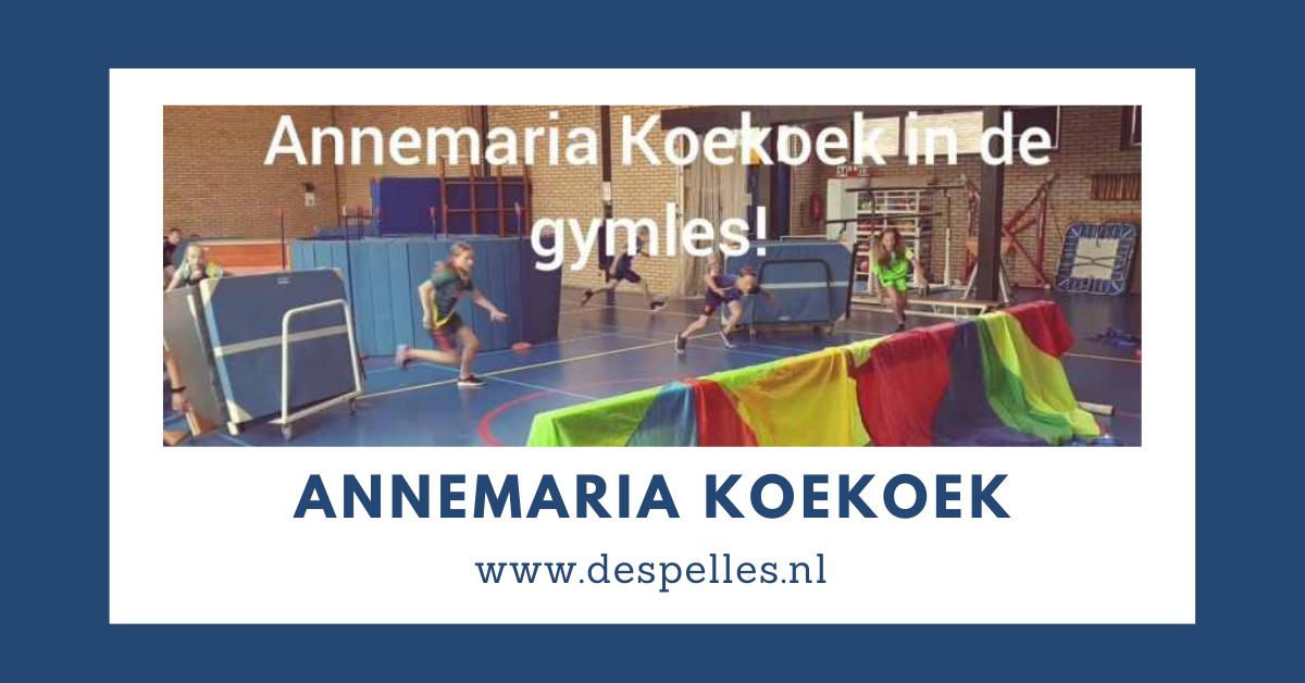 Annemaria Koekoek in de gymles