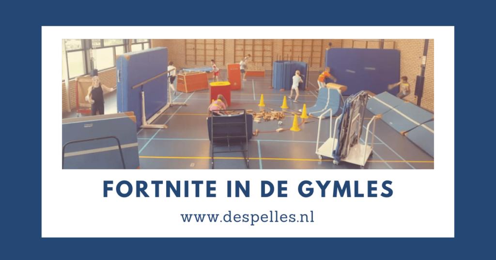 Fortnite in de gymles