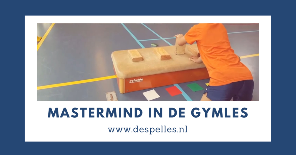 Mastermind in de gymles - estafette