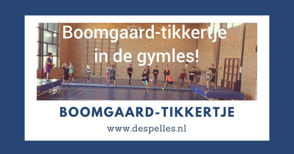 Boomgaard-tikkertje in de gymles