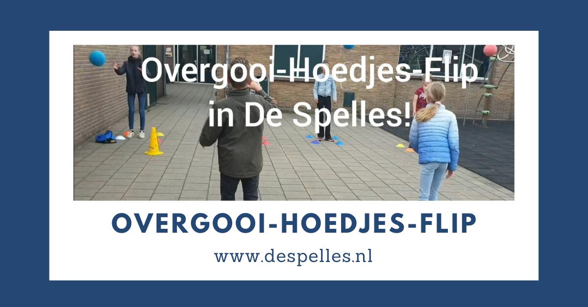 Overgooi-Hoedjes-Flip in de gymles