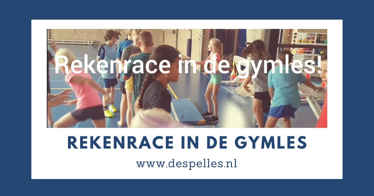 Rekenrace in de gymles