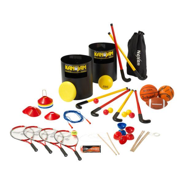 Speelmaterialen voor op het schoolplein - bovenbouw