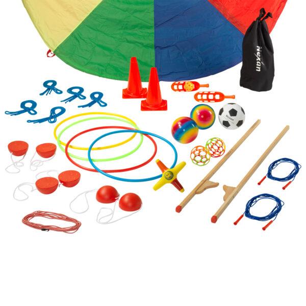 Speelmaterialen voor op het schoolplein - onderbouw