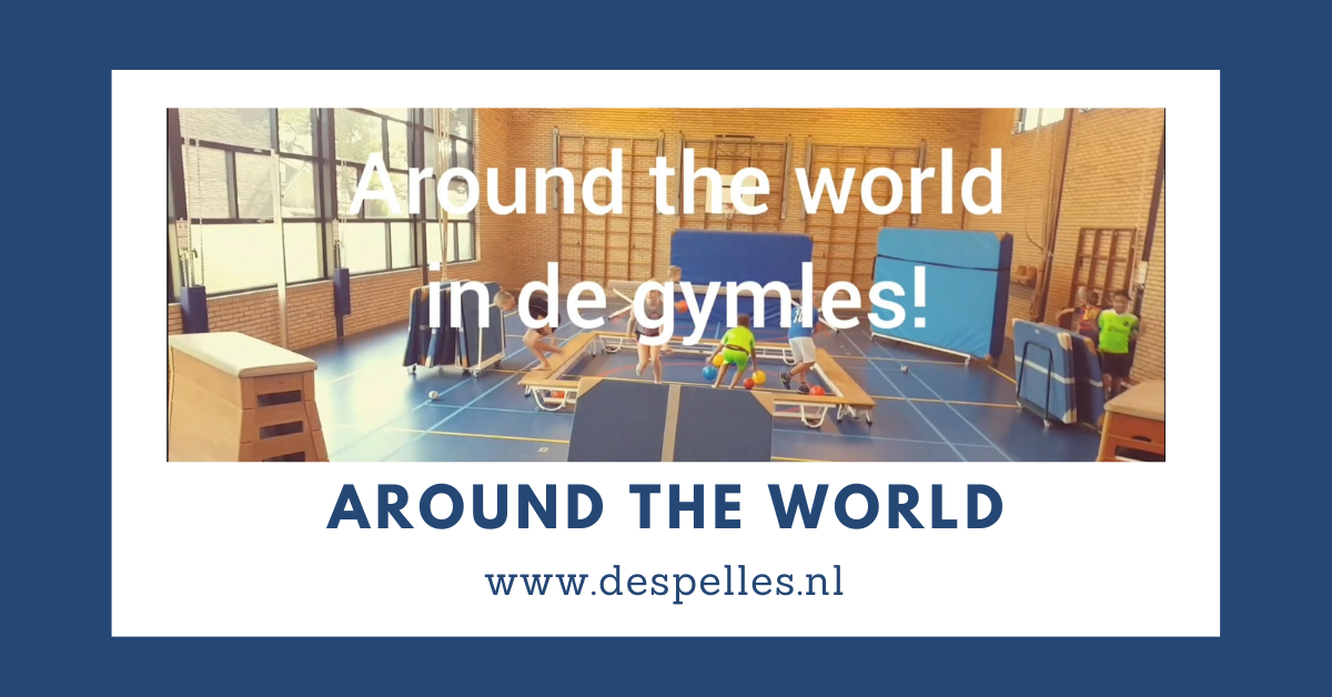 Around the world in de gymles