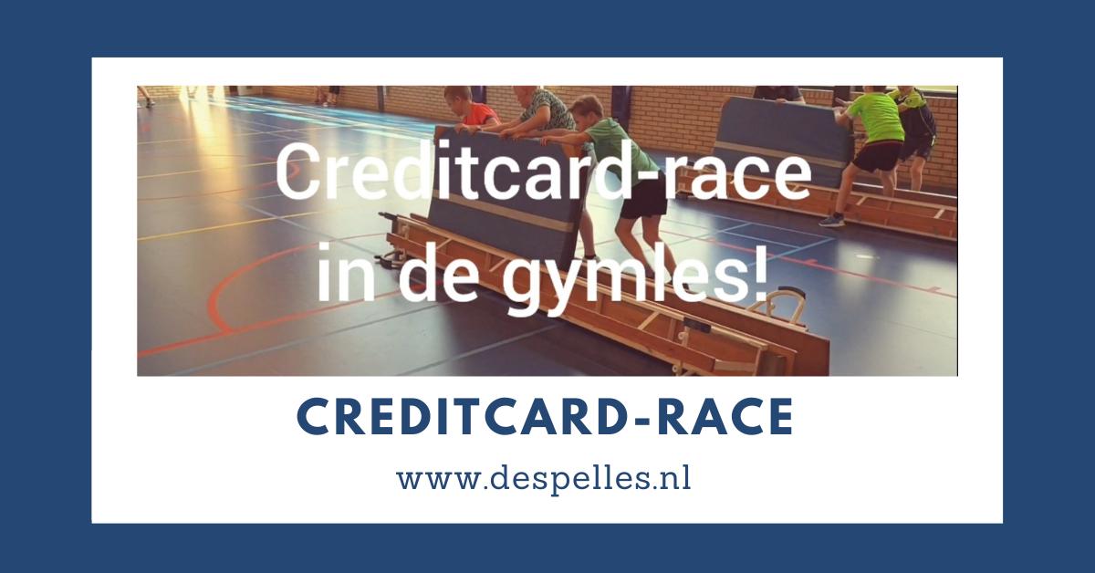 Creditcard-race in de gymles
