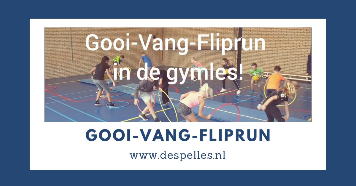 Gooi-Vang-Fliprun in de gymles