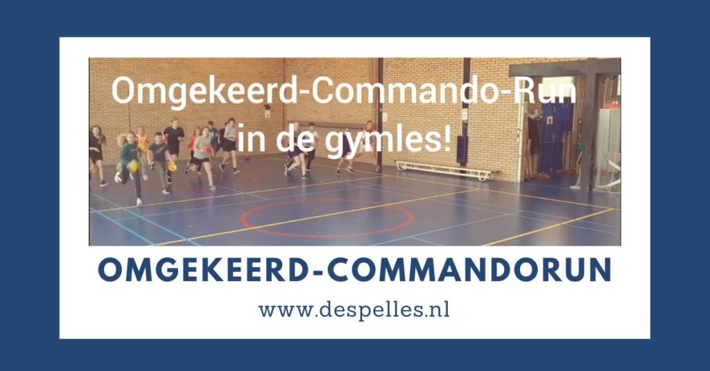 Omgekeerd-Commando-Run in de gymles