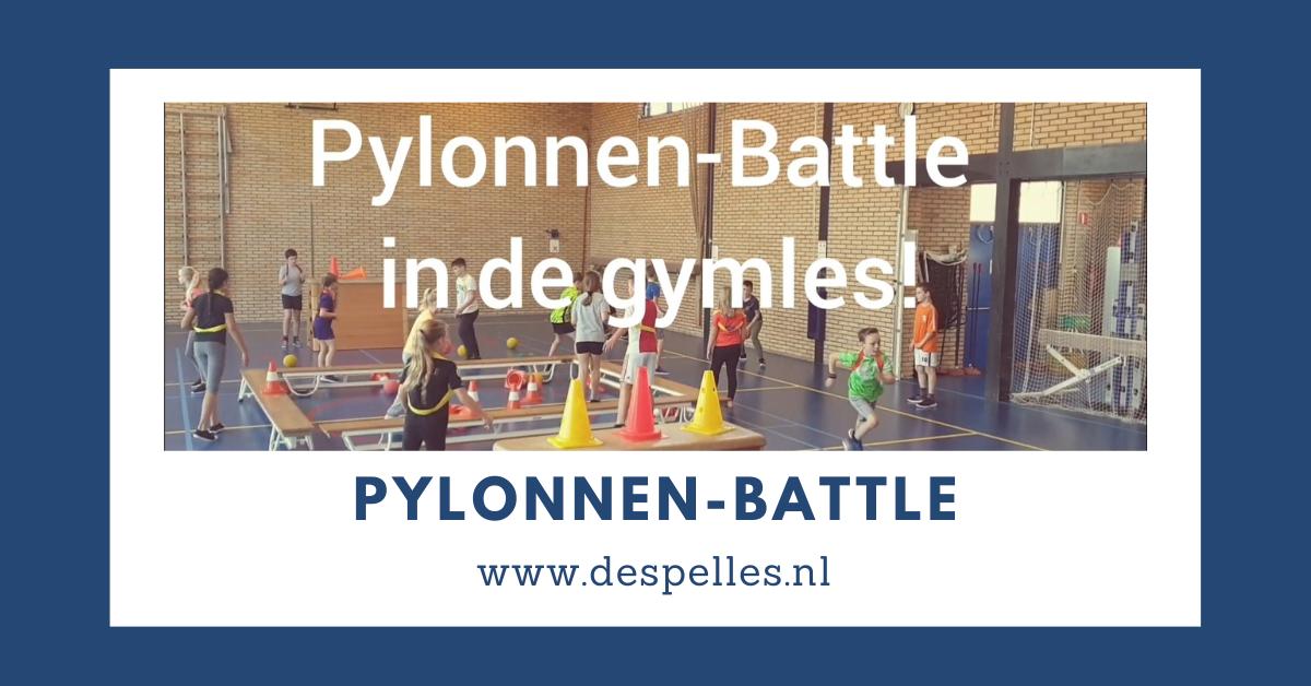 Pylonnen-Battle in de gymles