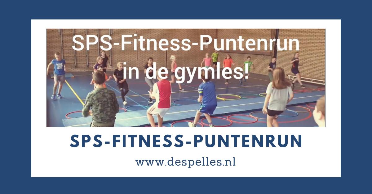 SPS-Fitness-Puntenrun in de gymles