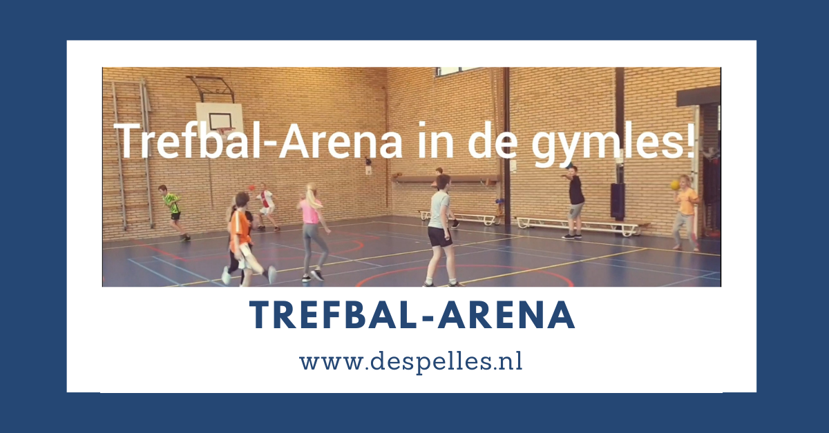 Trefbal-Arena in de gymles