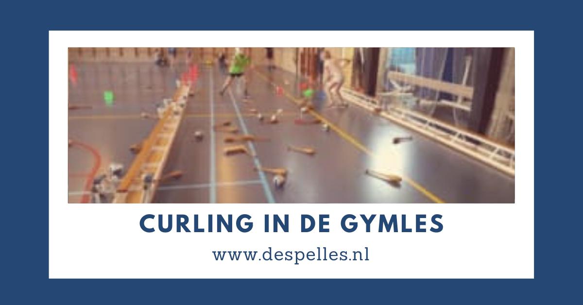 Curling in de gymles