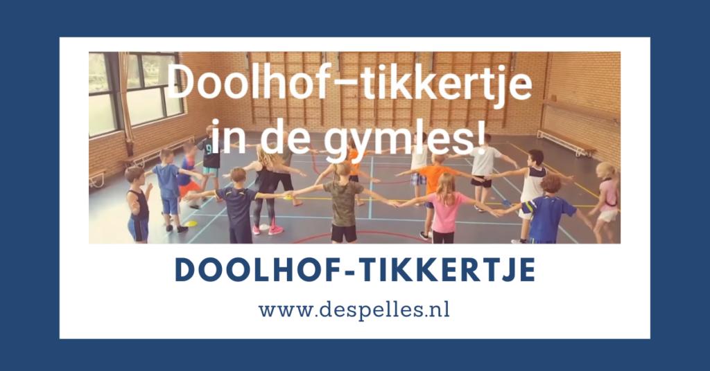 Doolhof-Tikkertje in de gymles