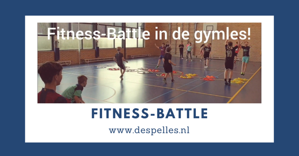 Fitness-Battle in de gymles