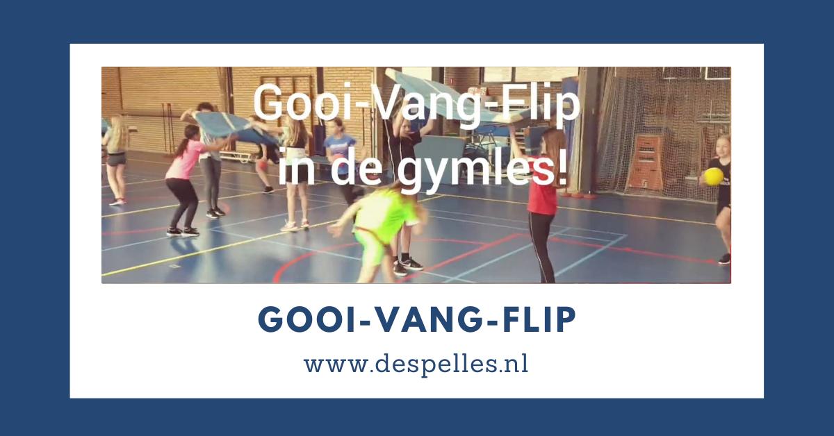 Gooi Vang Flip in de gymles